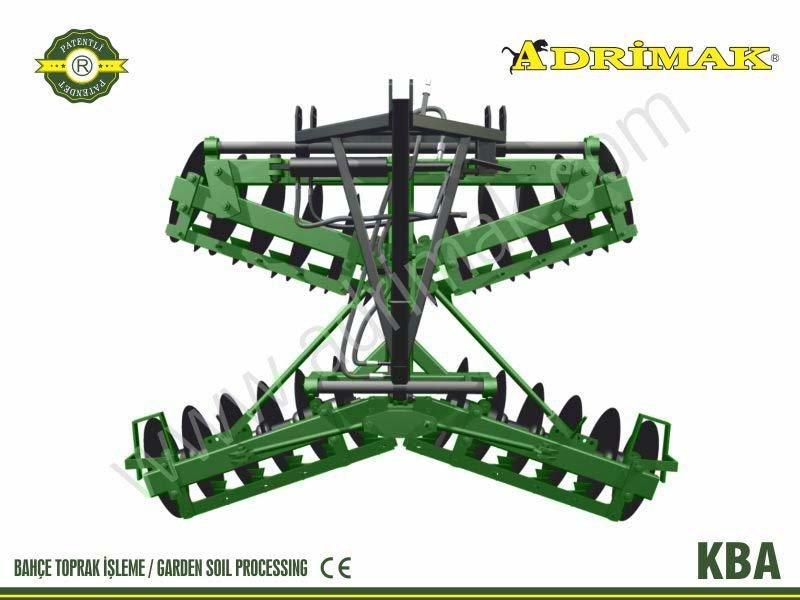 Heavy  X Type Hydraulic Suspended Disc Harrow (KBA)