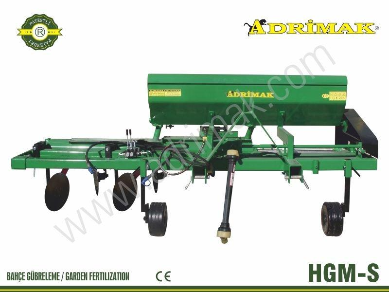 Right Exit Fertilizer Machine with Spiral (HGM-S)